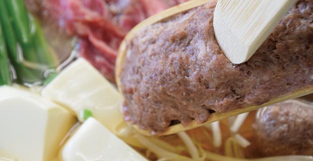 桜つくね・馬肉ハンバーグ・桜鍋用